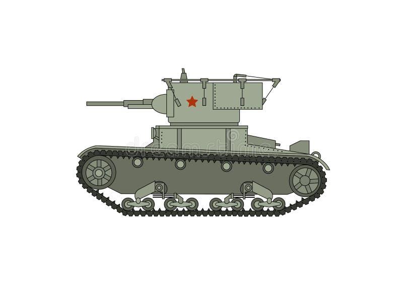 Sovjetisk behållare för världskrig två royaltyfri illustrationer