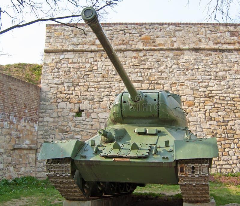 Sovjetisk behållare T34 arkivfoto