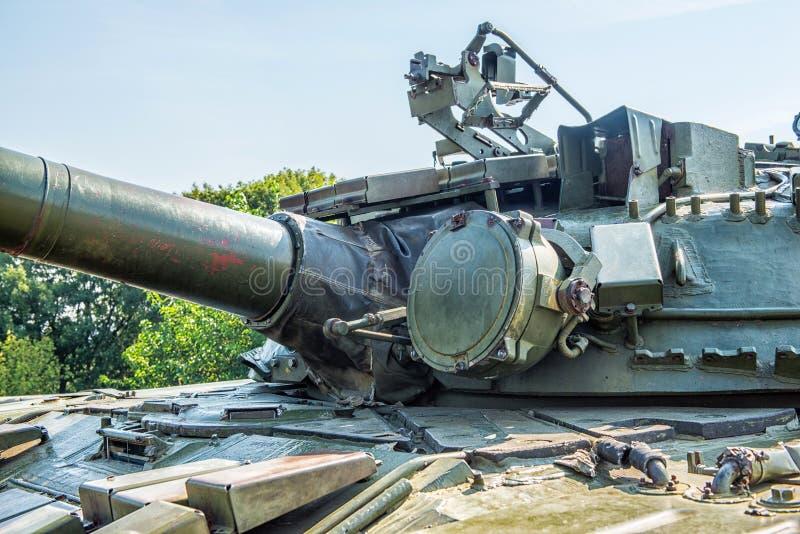Sovjetisk behållare T-64 arkivbilder