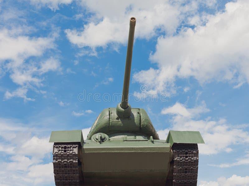 Sovjetisk behållare T-34 i Minsk royaltyfri fotografi
