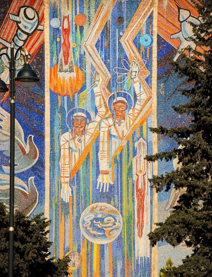 Sovjetisk konst royaltyfri bild