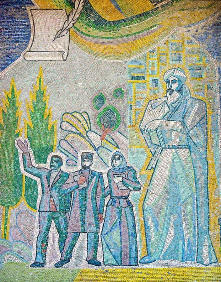 Sovjetisk konst royaltyfria bilder