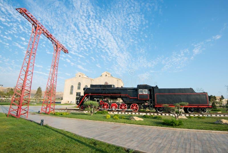 Sovjetisk lokomotiv royaltyfri fotografi