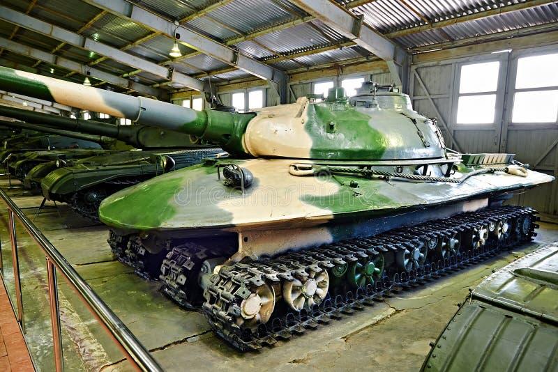 Sovjetiskt experimentellt tungt behållareobjekt 279 arkivbild
