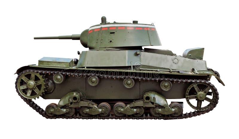 Sovjetiskt ljust infanteri tankar T-26 royaltyfri bild