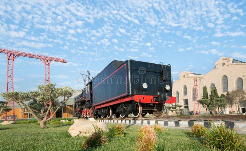 Sovjetiskt lokomotivanbud royaltyfria foton