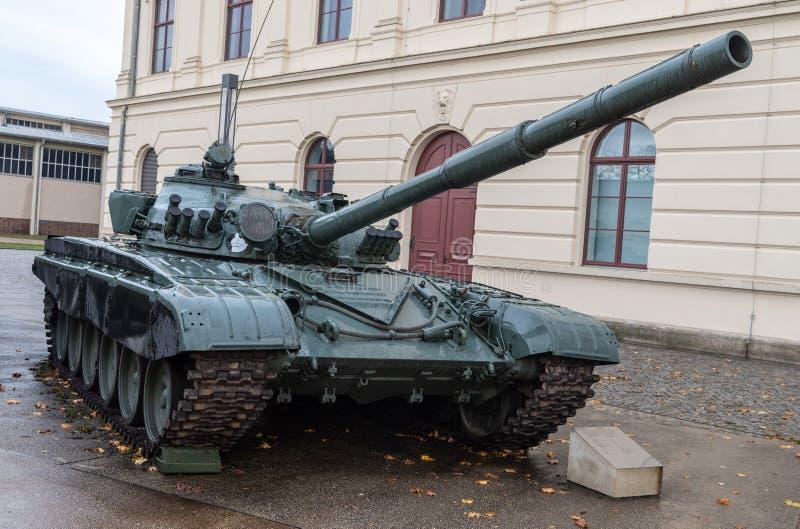 Sovjettank T die 72M, van 1983 dateren royalty-vrije stock fotografie