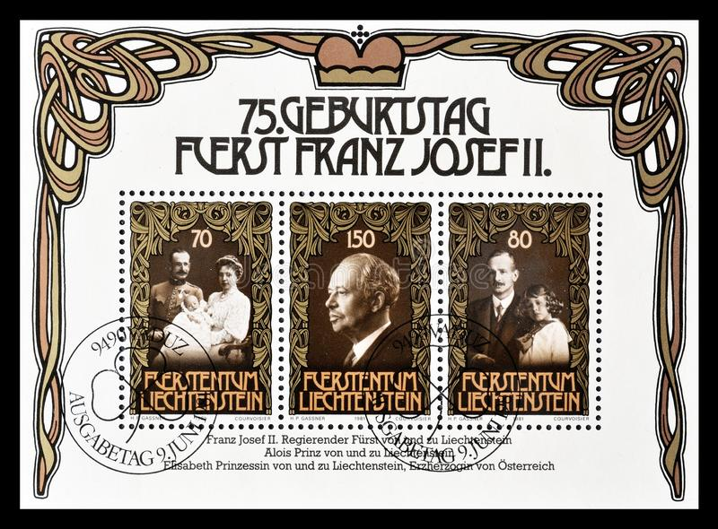 Sovranità sui francobolli fotografia stock