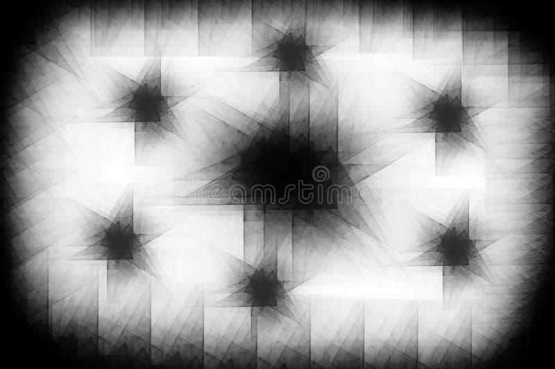 Sovrapposizioni in bianco e nero di immagine di sfondo fotografia stock