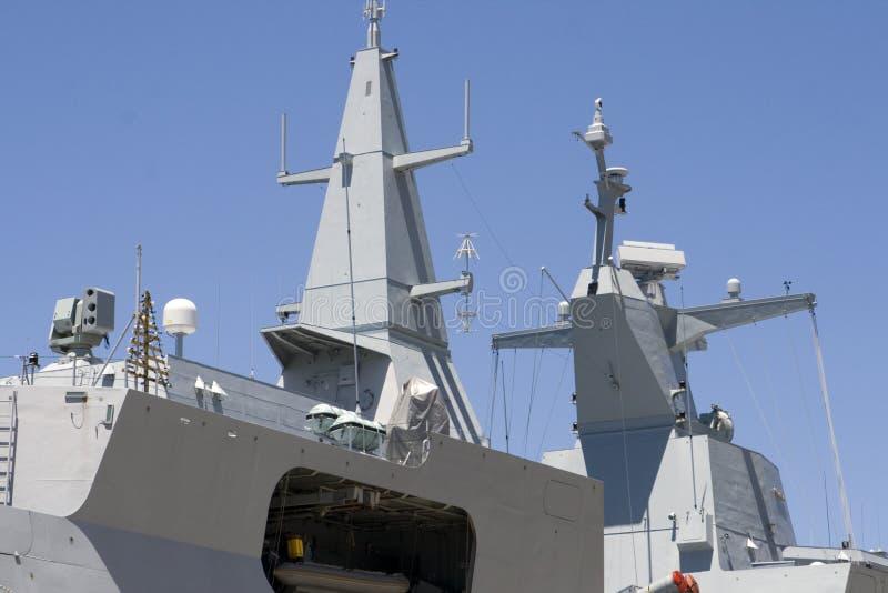 Sovrastruttura della fregata fotografia stock libera da diritti