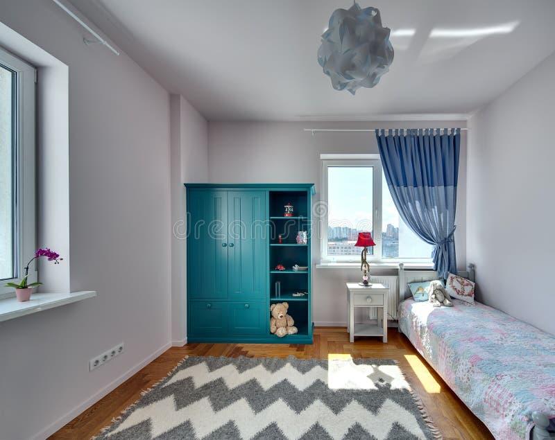 Sovrum för unge fotografering för bildbyråer