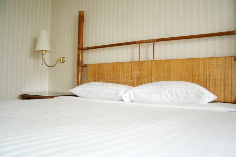 sovrumhotell royaltyfri bild