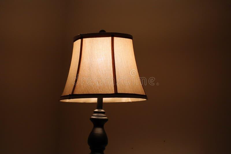 Sovrumlampa royaltyfri fotografi