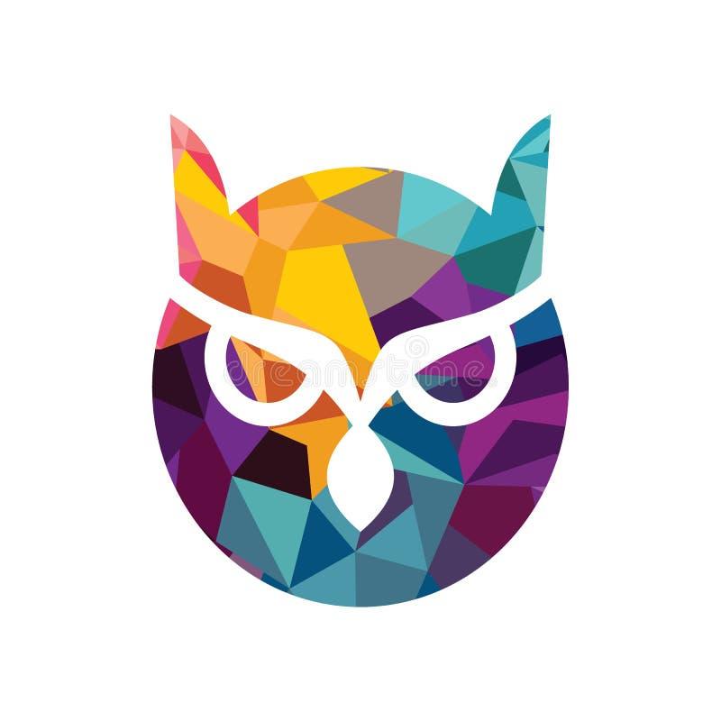 Sowa logo ilustracji