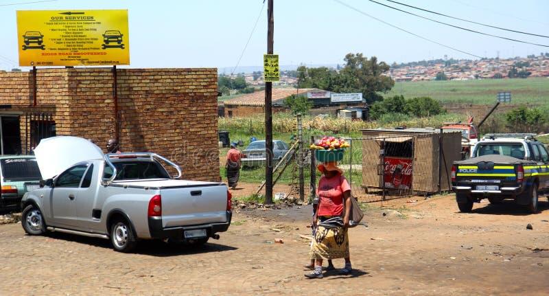 Soweto församlingar fotografering för bildbyråer