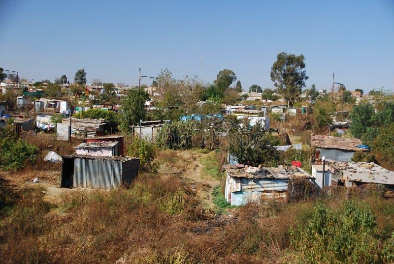 SOWETO in Johannesburg stock afbeelding