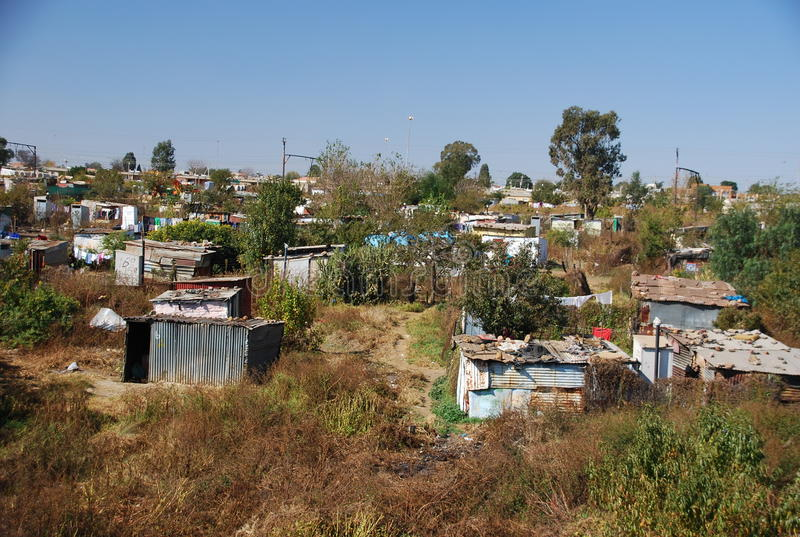 SOWETO in Johannesburg. SOWETO, a township in Johannesburg, South Africa stock image