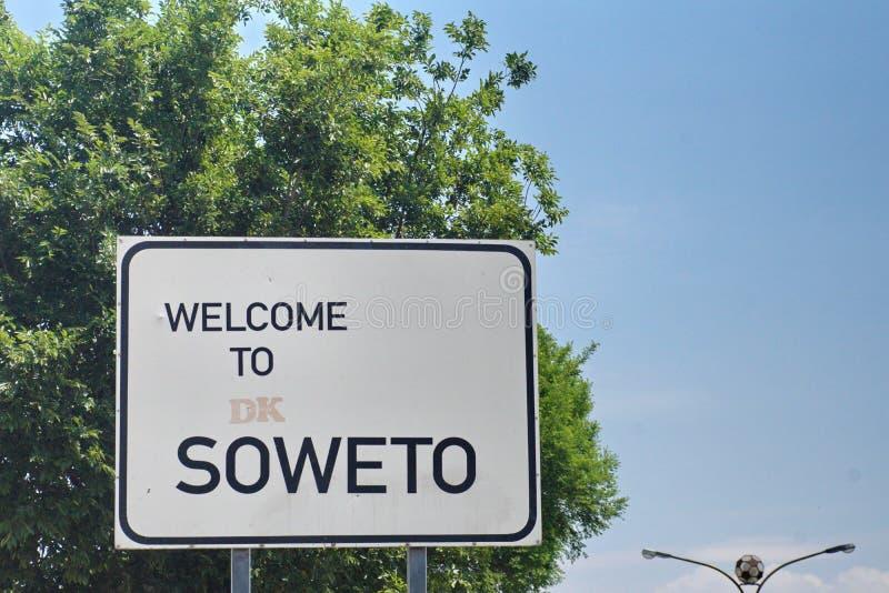 Soweto tecken arkivfoton