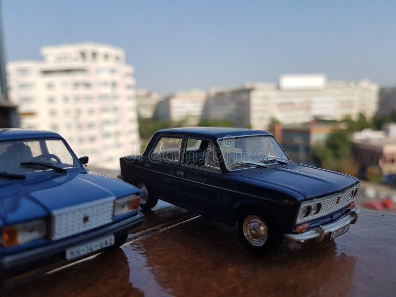 Sowieci diecast samochody fotografia stock