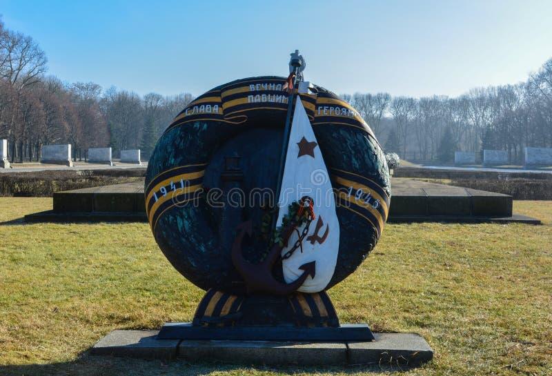 Sowieci Memorial Park, Treptower park - fotografia royalty free