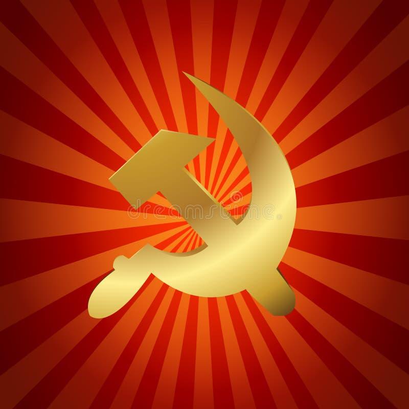 Sowieci - zjednoczenie, USSR Symbol ilustracji