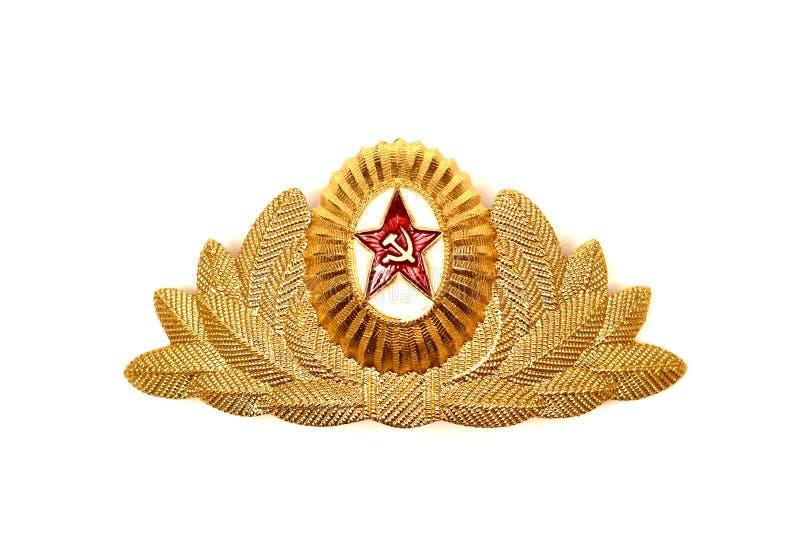 Sowjet UDSSR-Armeeausweis stockbild