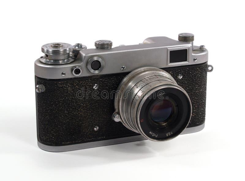 Sowjetische alte analoge Kamera lizenzfreie stockfotos