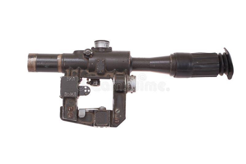 Sowjetischer Armeescharfschützebereich stockfotografie
