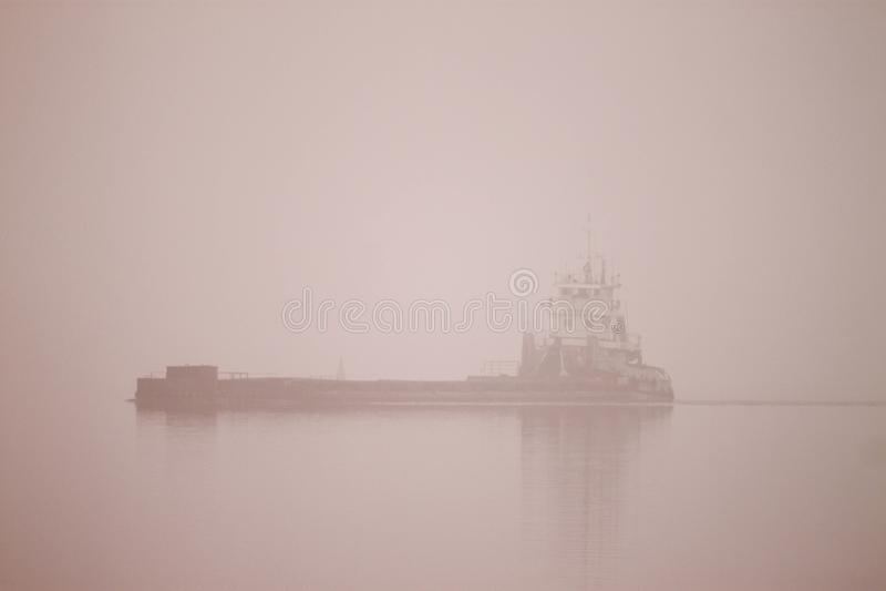 Sowjetischer Fluss-Geist lizenzfreie stockbilder