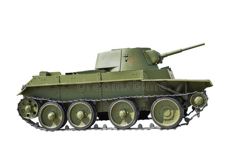 Sowjetischer Heller Behälter BT-7 Stockfoto - Bild von leistung ...