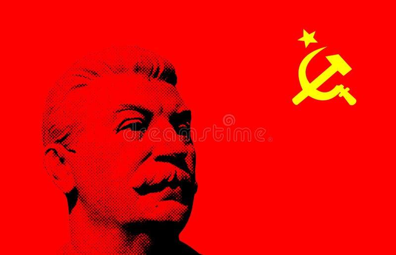 Sowjetischer Retro- Hintergrund vektor abbildung