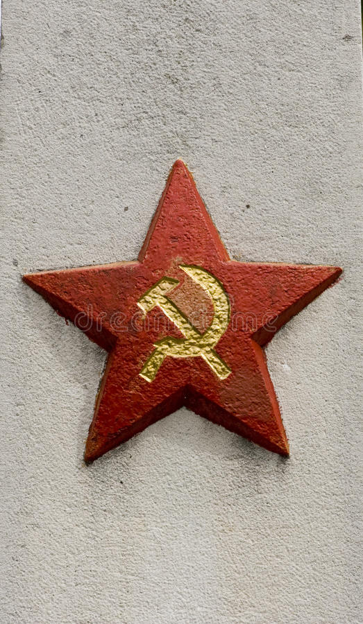 Sowjetisches Denkmal lizenzfreies stockfoto