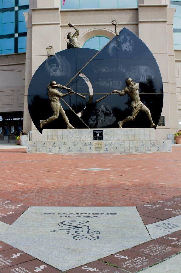 Sox-Statue stockfoto