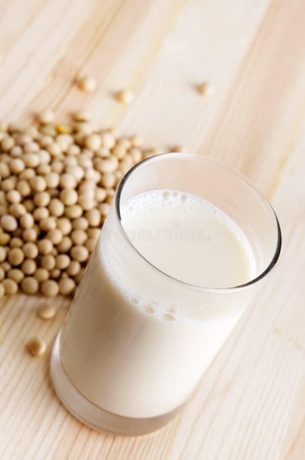 Soy milk royalty free stock photos