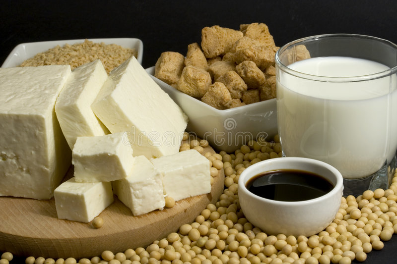 Soy Products Stock Image