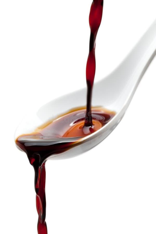 Soy sauce stock photos
