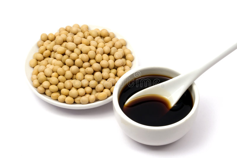 Download Soy sauce and beans stock photo. Image of vegetable, thai - 4407124