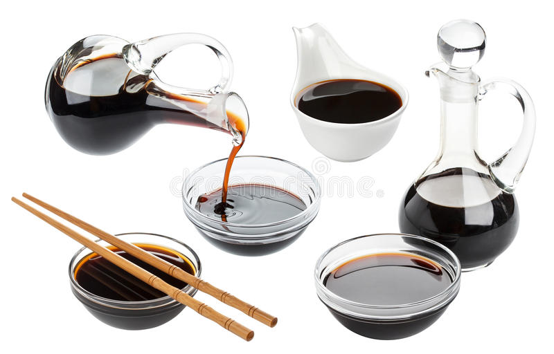 Download Soy Sauce Isolated On White Stock Image - Image: 83709807