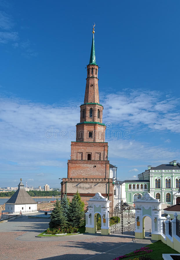 Download The Soyembika Tower Of The Kazan Kremlin Royalty Free Stock Images - Image: 26338809