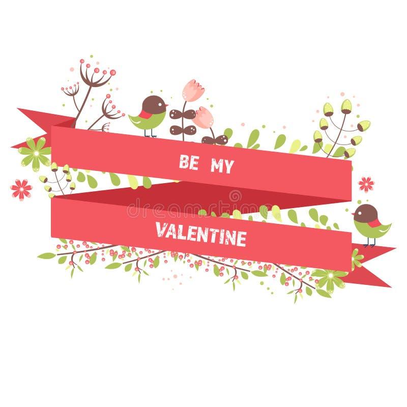 Soyez mes usines d'imagination de carte de voeux de Valentine photo stock