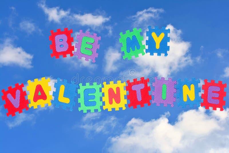 Soyez mon valentine photographie stock