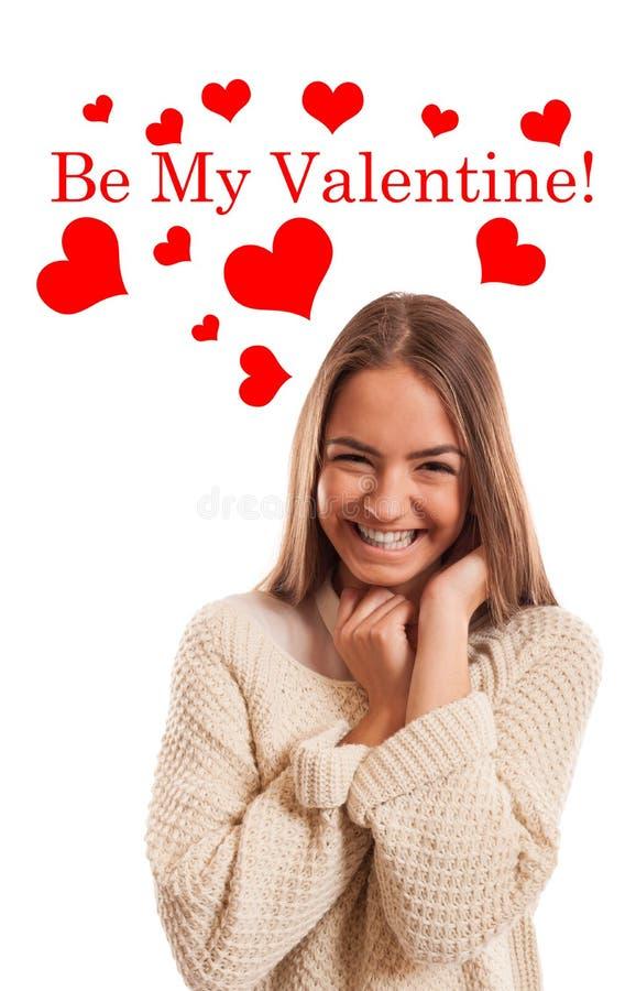 Soyez mon Valentine ! photos libres de droits