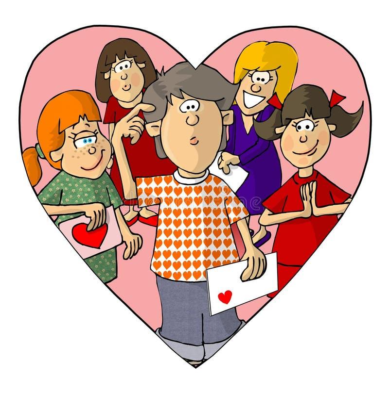 Soyez Mon Valentine Photo stock