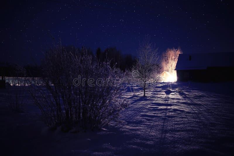 soyez peut concevoir l'hiver utilisé par nuit d'horizontal d'illustration votre photo libre de droits