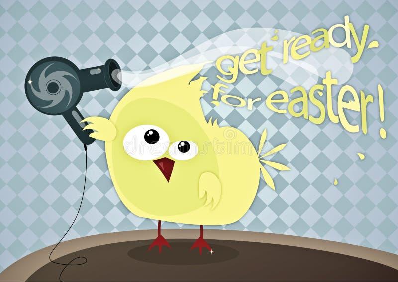 Soyez prêt pour Pâques illustration libre de droits