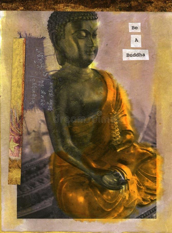 Soyez un Bouddha illustration libre de droits