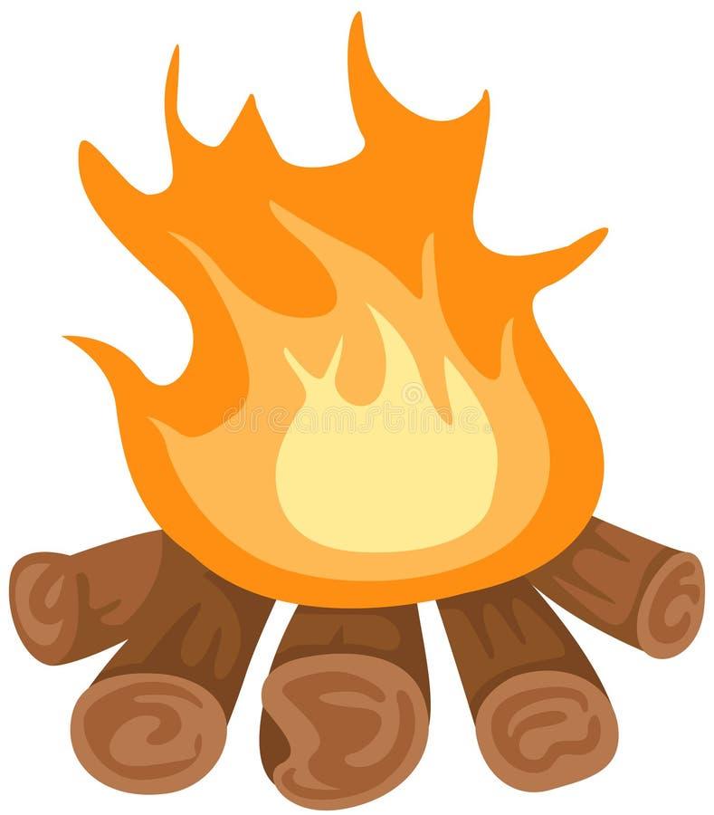 Soyez venu le feu illustration stock
