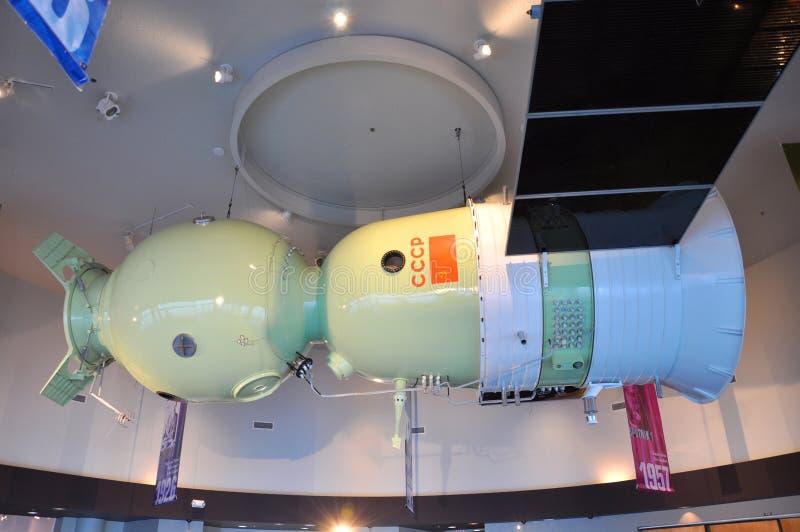 Soyuz Baumuster im Kennedy Space Center lizenzfreie stockfotografie