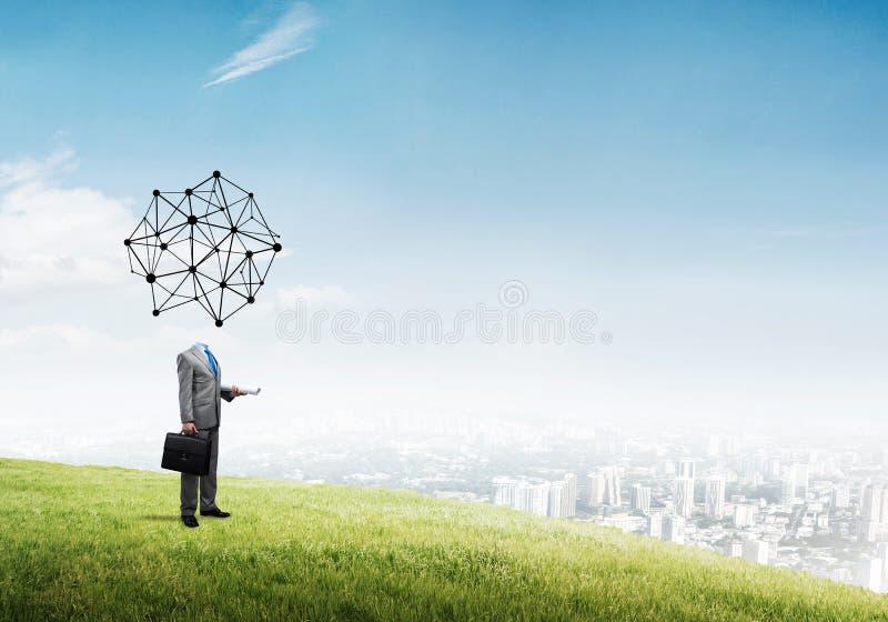 Soziales Netz als Geschäftskonzept lizenzfreie stockfotografie
