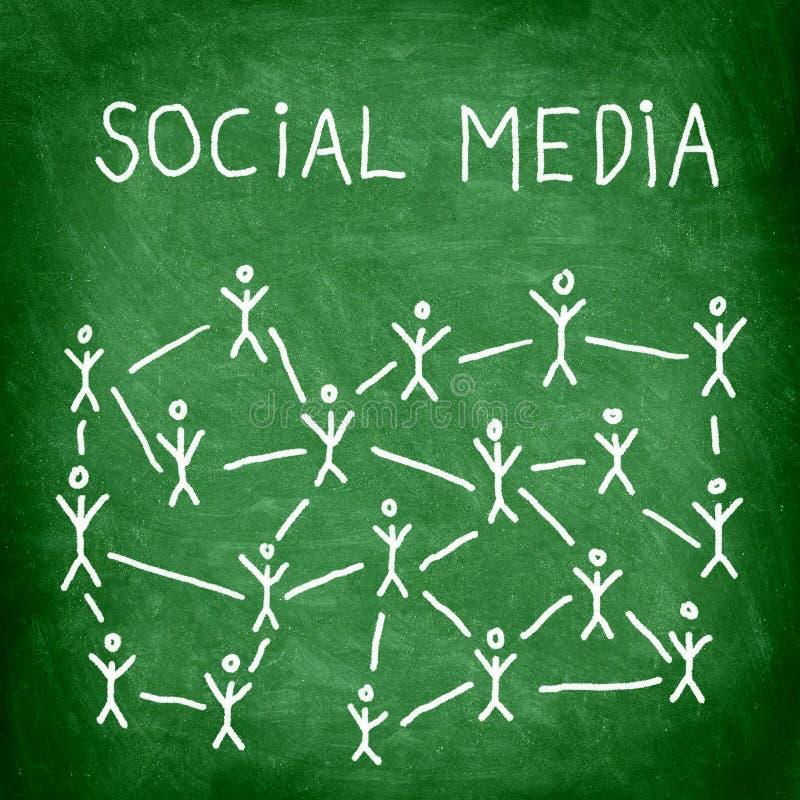 Sozialmedia stock abbildung